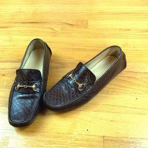 Cole Haan Moc Toe Horsebit Loafers 7.5B